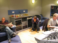 we found some pictures from the recording studio so have put them in this blog